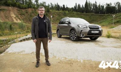 На что способны кроссоверы? Вместе с нашим экспертом учимся покорять бездорожье на Subaru Forester