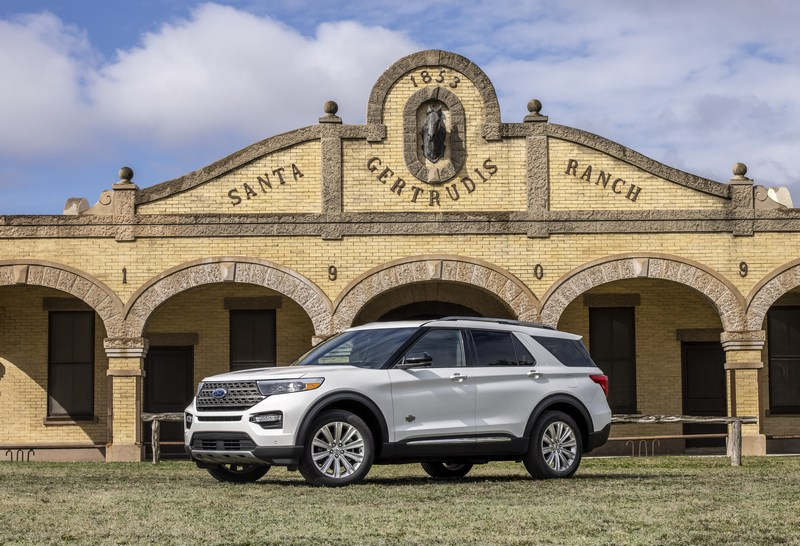 Ford посвятил спецверсию Explorer техасскому ранчо