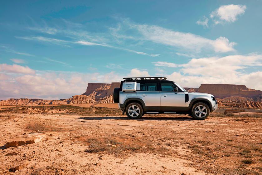 Land Rover выпустит трёхрядный Defender