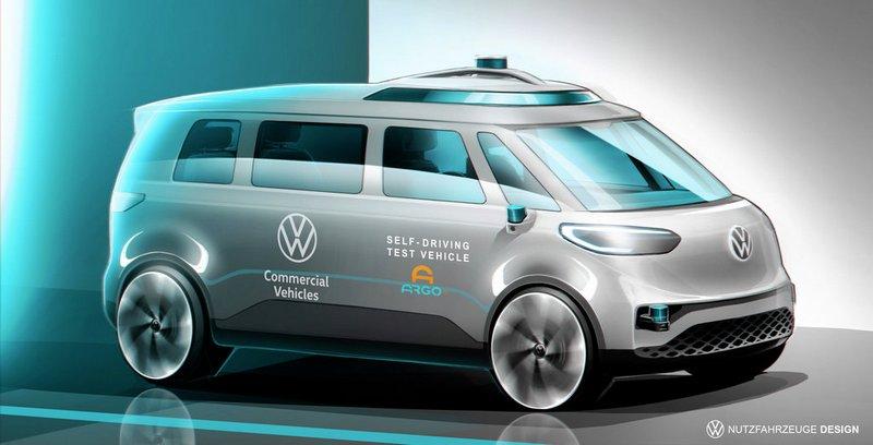 Volkswagen показал, каким будет его первый автономный автомобиль