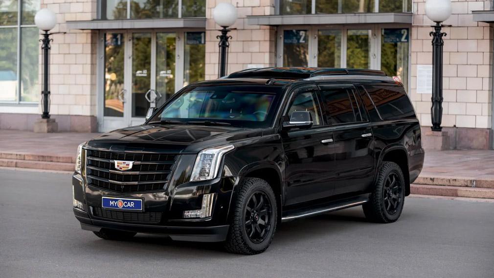 Бронированный Cadillac Escalade класса VR8