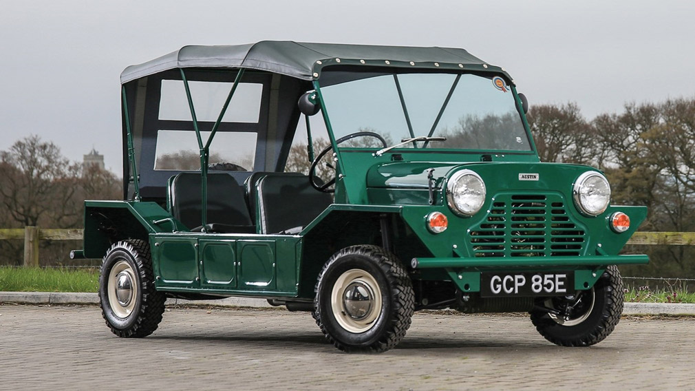 В Moke International возродили производство внедорожника Mini Moke