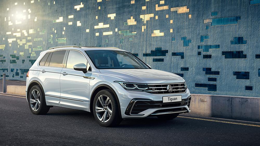 Volkswagen раскрывает комплектации нового Tiguan