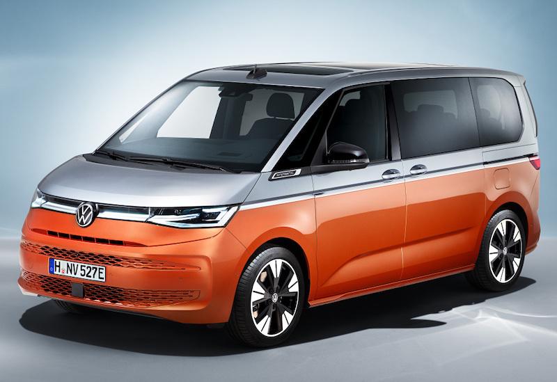 Новый VW Multivan T7 стал более человекоориентированным