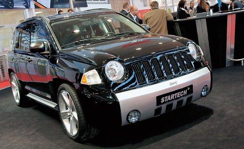 Попав в руки дизайнеров Startech, Jeep Compass обрел, наконец, некоторую мужественность