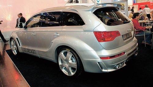 Audi Q7 от JE Design: за стильным внешним видом – 233 л. с. и 500 Нм, выжатых из 3-литрового дизеля V6