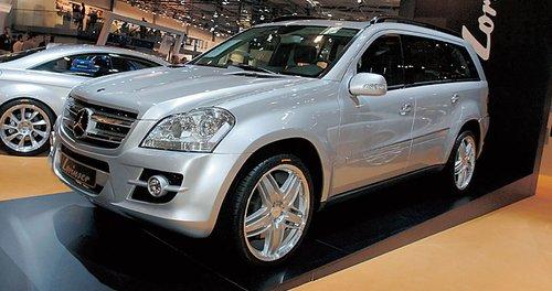 Mercedes-Benz GL от Lorinser – бодибилдер после салона красоты