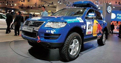 Реплика «дакаровского» VW Touareg: в пустыню, может, и рановато, но выглядит очень эффектно