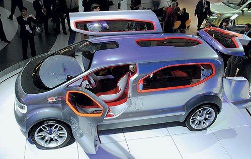 Совместно с компанией Airstream, производящей кемперы и дома на колесах, Ford Motor создал концепт кроссовера нового поколения