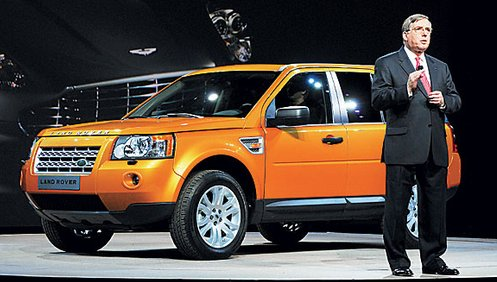 Компания Land Rover представила в Детройте свою самую свежую новинку – кроссовер Freelander, который в Северной Америке будет продаваться как Land Rover LR2