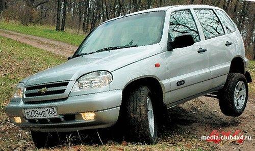 Новая Chevy Niva FAM1 с 1.8-литровым двигателем Opel
