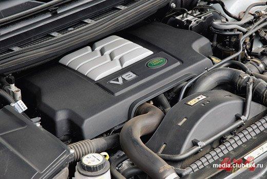 Land Rover V8