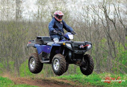 Polaris Sportsman 2007 года: Х2 500 и Х2 800