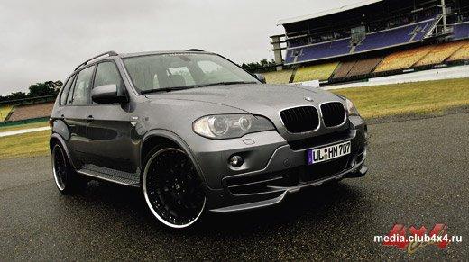 BMW X5 прошел тонкую настройку в тюнинг-ателье Hamann