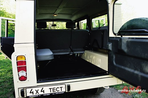 Испанский наследник Land Rover Series III