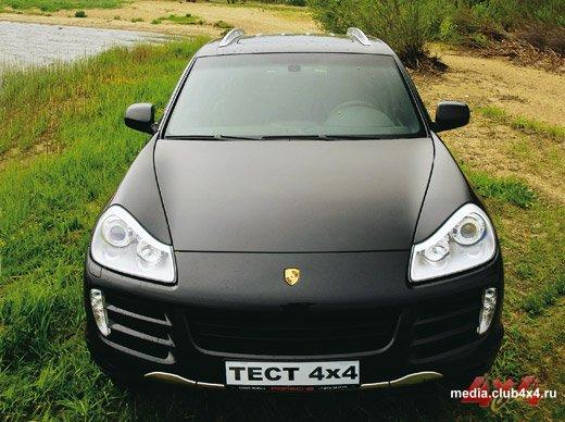 Обновленный Porsche Cayenne S