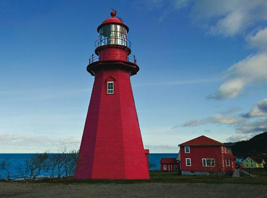 La Martre sur le st. Laurent lighthouse