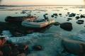 На пикапах до Онеги, на надувных лодках до островов
