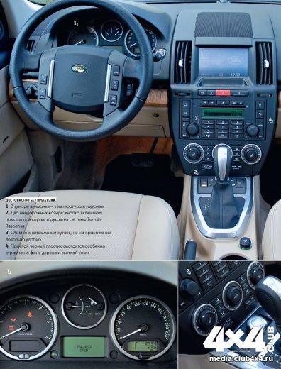 Из парных тестов Land Rover Freelander II выходит победителем