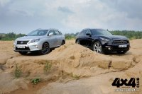 Lexus RX 350 не идет путем Infiniti FX 370