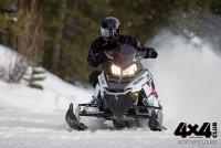 Новинка Polaris 550 Indy Voyager — снегоход с собственным лицом