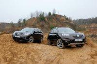 Honda CR-V и Renault Koleos выясняют, кто из них лучший вездеход