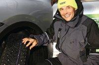Первая в мире зимняя шина Nokian Tyres с выдвижными шипами