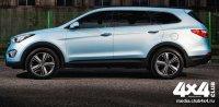 Hyundai Grand Santa Fe подрос в длину