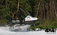Stels «Росомаха»: новый снегоход, полностью разработанный в России