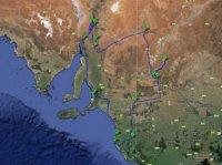 В Австралию на квадроциклах - первая межконтинентальная экспедиция