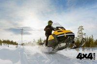 BRP Tundra LT 550F – утилитарный снегоход со спортивными повадками