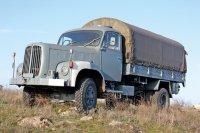 Музейная редкость – швейцарский военный автомобиль Saurer 2DM