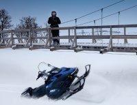 FAQ. Если снегоход провалился под лед