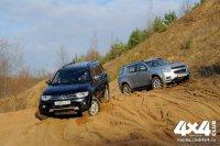 Mitsubishi Pajero Sport и Chevrolet Trailblazer лицом к лицу