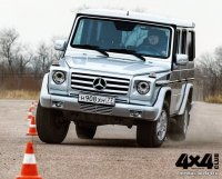 Mercedes-Benz Gelandewagen с серийной подвеской ARB/OME