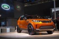 Jaguar Land Rover представляет Discovery Vision в эксклюзивном цвете Taklamkan Orange и новый Range Rover Long Wheel Base c гибридным двигателем