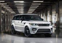 Компания Jaguar Land Rover представляет специальную серию Range Rover Sport Stealth Pack