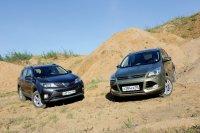 Состязание популярных. Ford Kuga vs Toyota RAV4