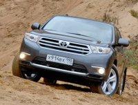 Вместительный Highlander уверенно подтверждает: Toyota не ломается