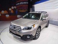 Предсерийный Subaru Outback покажут на автосалоне в Москве