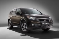 Honda CR-V снова стал лидером среди кроссоверов
