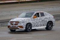 «Заряженный» Mercedes MLC 63 AMG замечен на тестах