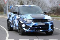 Range Rover Sport SVR покажут 14 августа в Пеббл-Бич
