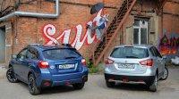 Танцуем вокруг Subaru XV и Suzuki New SX4
