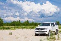 На примере пикапа Volkswagen Amarok учимся преодолевать препятствия элегантно и весело