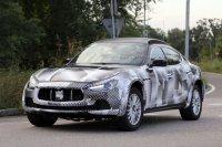 Maserati приступила к тестам своего кроссовера Levante