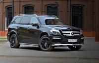 Проверяем в деле новый Mercedes-Benz GL 400