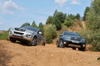 Great Wall H6 соревнуется с Renault Duster на асфальте и бездорожье