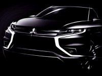 В Париже Mitsubishi собирается представить концепт-кар полностью электрического Outlander