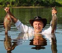 Лучший и самый простой способ приготовить благородную рыбу в походных условиях